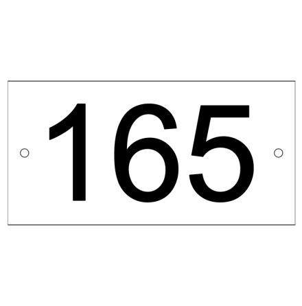 Nummerskyltar till parkeringar
